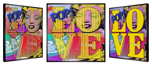Love is All We Want! by Patrick Rubinstein - Kinetic Edition